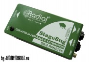 STAGE BUG ISOLATED DI FOR BASS+KEYBOARDS; SB-2 PASSIVE - SKLADOM JIMMYMARKET SENICA