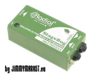 Radial Engineering SB-2 PASSIVE StageBug,DI-BOX pre KEYBOARD - SKLADOM JIMMYMARKET SENICA