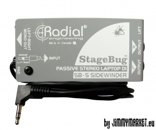 Radial StageBug SB-5 DJ Notebook DI-BOX - JIMMYMARKET SENICA