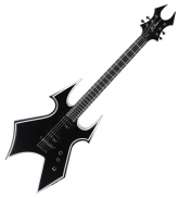 BC RICH TWBSTO Trace Warbeast Electric Guitar Onyx Black