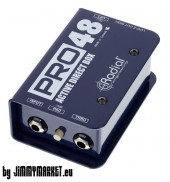 Radial Pro48 Active Direct Box pre gitary