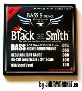 Black Smith Nano-Tech ANW 045-130 struny pre basgitaru