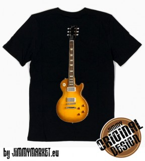 Tričko Jimmy Page Les Paul Black