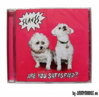 Slaves - Are you Satisfied? CD (2015) SKLADOM JIMMYMARKET SENICA