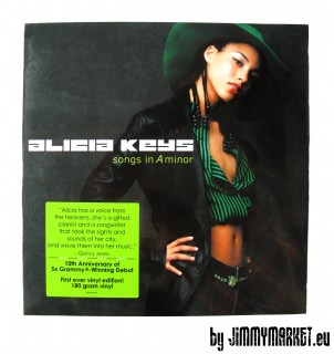 LP Alicia Keys - songs in A minor - JIMMYMARKET SENICA