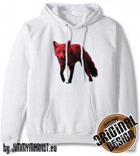 Mikina The Prodigy Fox White - JIMMYMARKET SENICA