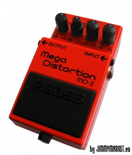 Boss MD-2 Mega Distortion Efektový Pedál - JIMMYMARKET SENICA