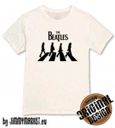 Tričko The Beatles Legendary White - JIMMYMARKET SENICA