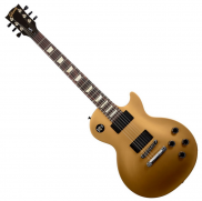 Gibson LPJ Rubbed Gold Top Dark Back Satin Left Hand