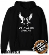 Mikina Hollywood Undead Eagles Black - SKLADOM JIMMYMARKET SENICA