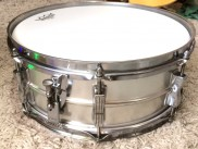 LUDWIG DRUM CO CHICAGO USA SNARE 60´s alluminium- SKLADOM JIMMYMARKET