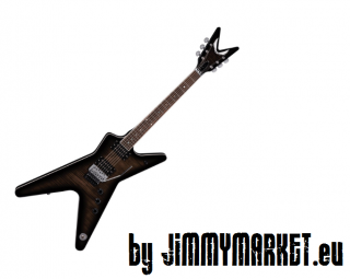 Dean Guitars ML 79 Floyd Flame Top-Trans Black-SKLADOM JIMMYMARKET SENICA