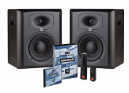JBL LSR6328P/PAK Studio Monitor Pair & Room Calibration Kit