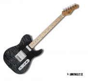 Telecaster Michael Kelly 1955 Black Wash
