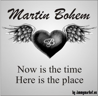 CD Martin Bohém - Now is the time Here is the place
