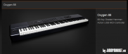 M-Audio Oxygen 88 midi keyboard