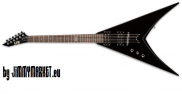 ESP LTD V-50 Black Ľavoruká