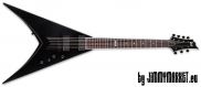 ESP LTD V-307 Black Satin 7-Strunová