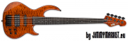 ESP LTD BB-1005 FL QM Burnt Orange 5-Strunová