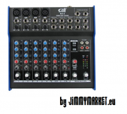 MX-8 Gatt Audio mixing console 8 channels
