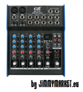 Gatt Audio 6 Channel Mixer with FX