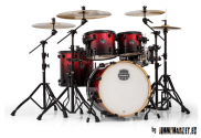 Akustické bicie Mapex Armory 5 Piece Fusion Shell Pack Magma Red