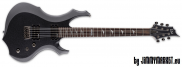 ESP LTD F-200 CHM Charcoal Metallic Baritónová