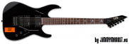 ESP LTD Signature KH-202 CAUTION BLK Black Kirk Hammett