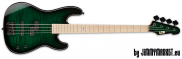 ESP LTD Signature MM-4 DSTGSB Dark See Thru Green Sunburst Marco Mendoza 4-Strunová