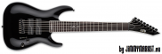 ESP LTD Signature SC-608B BLK Black Stephen Carpenter 8-Strunová Baritónová