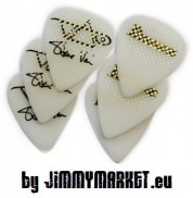 Set 6KS Signature Trsátiek Ibanez 1000SVR-WH Steve Vai Pick Set of 6 White