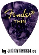 Trsátko Fender 351 Shape Premium Pick Thin Purple Moto