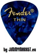 Trsátko Fender 351 Shape Premium Pick Thin Blue Moto