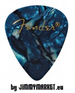 Set 12KS Trsátiek Fender Shape Premium Picks Ocean Turquoise Thin