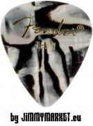 Set 12KS Trsátiek Fender 351 Shape Premium Picks Thin Zebra 12 Count