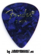 Set 12KS Trsátiek Fender Shape Premium Picks Blue Thin