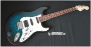 MULEN GUITARS - Stratocaster Blue Sunburst
